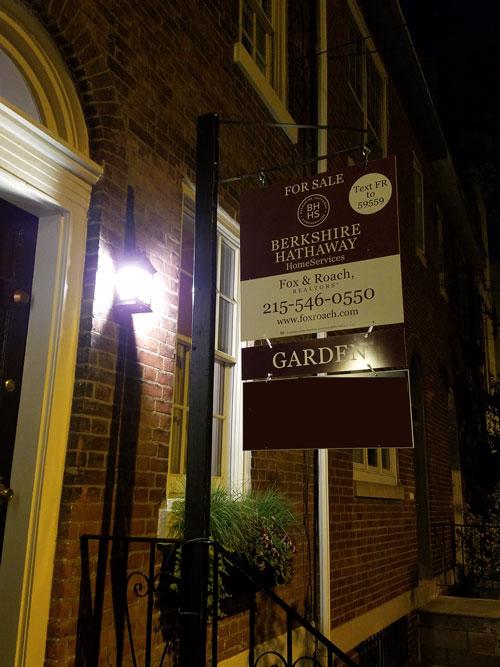 full real estate sign w garden2