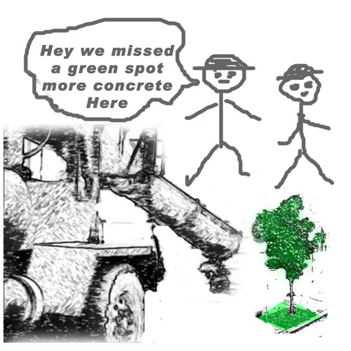 Tree and Green Space Haters in Philly